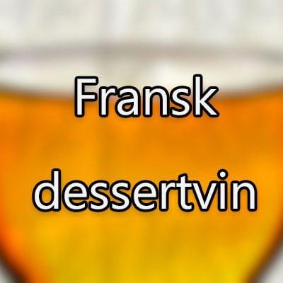 Fransk dessertvin