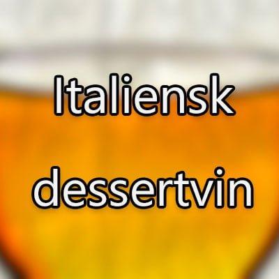 Italiensk dessertvin