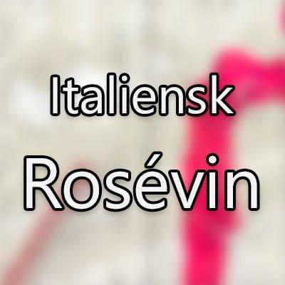 Italiensk rosévin