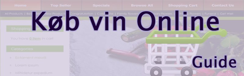 Køb vin online - vin fra hele verden