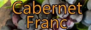 Vin med Cabernet Franc druen