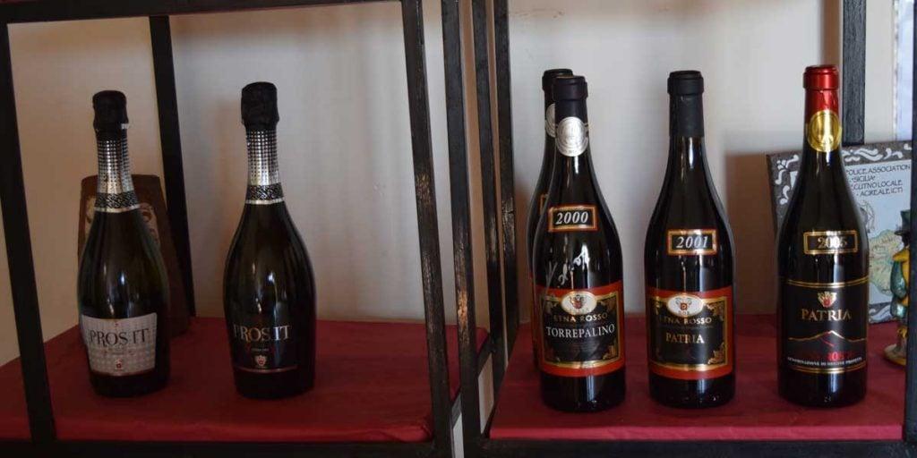 Prosit vinflasken