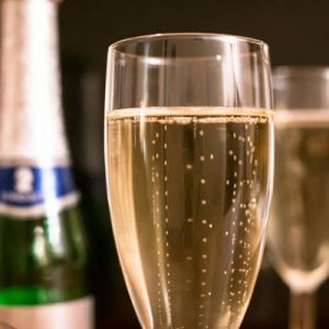 Mousserende vin fra Champagne regionen