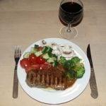 Vin der passe til oksekød og røde bøffer