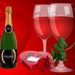 De bedste vine til Valentins dag