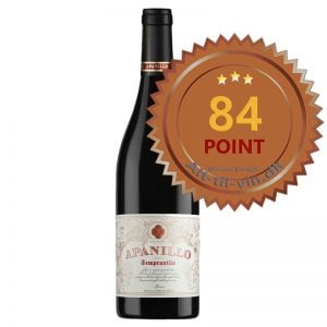Apanillo Tempranillo 2014 - 84 point